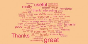 wordcloud of feedback Nov 15